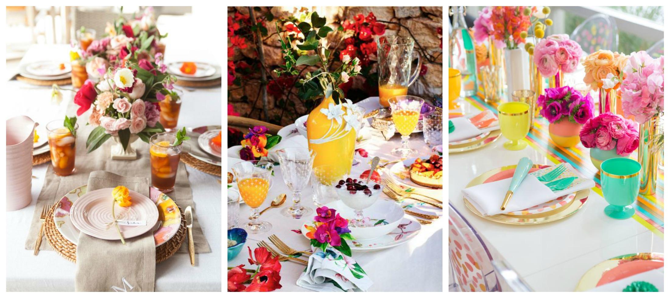 C mo decorar una mesa de verano cristina lopez aparicio - Como decorar una mesa para una fiesta ...