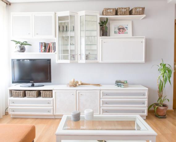 Interiorismo y restauración de un salón con mucho potencial