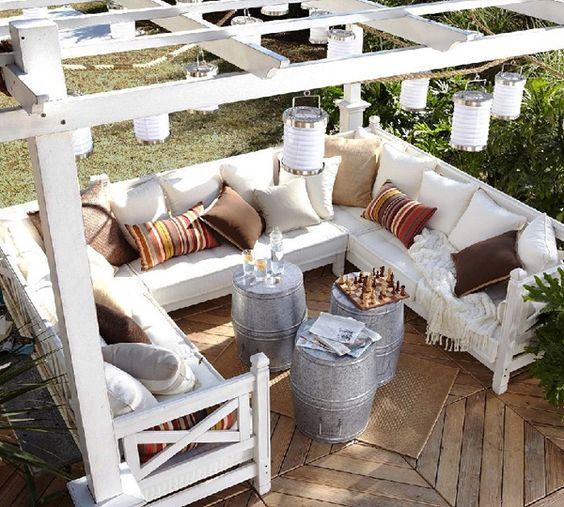 DIY: 5 Ideas para decorar tu jardín con palet